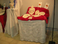 Cene di San Giuseppe - Mostra Sguartucciati di pane e di ceramica - 15 marzo 2009  - Salemi (2215 clic)