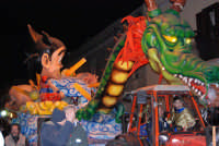 Carnevale 2009 - XVIII Edizione Sfilata di carri allegorici - 22 febbraio 2009   - Valderice (2218 clic)