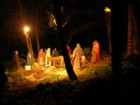 Parco Urbano della Misericordia - LA BIBBIA NEL PARCO - Quadri viventi: 8. Gesù entra in Gerusalemme - 5 gennaio 2009   - Valderice (2928 clic)