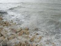 vista sul mare dal Lungomare Dante Alighieri - 8 febbraio 2009  - Trapani (2972 clic)