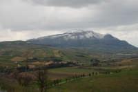monte Inici innevato - 15 febbraio 2009   - Alcamo (3251 clic)