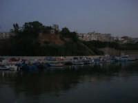 case sul porto a sera - 12 luglio 2008   - Balestrate (1088 clic)
