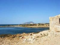 C/da Birgi Novo - costa e mare - all'orizzonte il monte Erice - 25 maggio 2008  - Marsala (807 clic)