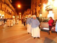 festa dell'Immacolata: la processione nel corso VI Aprile - 8 dicembre 2009  - Alcamo (1995 clic)