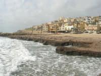 il paese visto dal molo - 1 marzo 2009  - Marinella di selinunte (5125 clic)