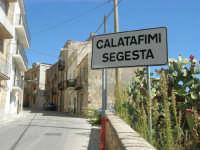 la periferia del paese - via Dei Mille - 4 ottobre 2007   - Calatafimi segesta (1034 clic)