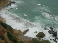 la costa: quando il mare è in burrasca - 22 marzo 2009  - Castellammare del golfo (1547 clic)