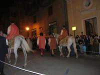2° Corteo Storico di Santa Rita - Dinanzi la Chiesa S. Antonio - seconda uscita - Gli uccisori del marito - Cavalieri - 17 maggio 2008  - Castellammare del golfo (510 clic)