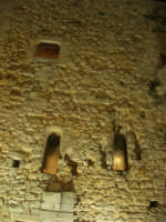 Castello arabo normanno - particolare - 2 gennaio 2009   - Salemi (2558 clic)