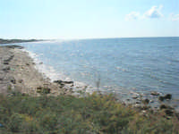 un tratto di costa in direzione sud - 28 settembre 2008   - Marausa lido (1810 clic)
