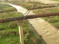 corso d'acqua dopo le abbondanti piogge della notte precedente - 1 febbraio 2009  - Erice (5590 clic)