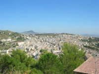 panorama della città dalla rupe - 4 ottobre 2007   - Calatafimi segesta (937 clic)
