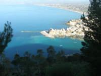 panorama dal Belvedere: la città ed il golfo di Castellammare - 3 marzo 2008  - Castellammare del golfo (580 clic)