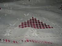 Cene di San Giuseppe - mostra di manufatti - pizzi e ricami - 15 marzo 2009   - Salemi (2644 clic)