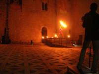 Festeggiamenti Maria SS. dei Miracoli - La Festa del Paradiso - L'Assalto al Castello - Piazza Castello - 20 giugno 2008  - Alcamo (533 clic)
