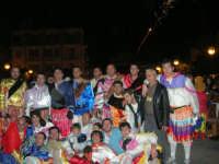 Carnevale 2009 - alla conclusione del Ballo dei Pastori: foto ricordo - 24 febbraio 2009  - Balestrate (3733 clic)