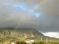 dopo la pioggia - Monte Erice ed arcobaleno - 1 febbraio 2009   - Erice (3965 clic)