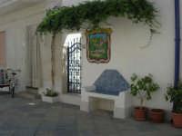 girovagando per la città: panchina in pietra - 30 agosto 2008   - San vito lo capo (585 clic)