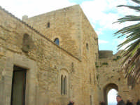 Castello arabo normanno - cortile interno - 6 gennaio 2009   - Salemi (2920 clic)