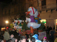 Carnevale 2008 - Sfilata Carri Allegorici lungo il Corso VI Aprile - 2 febbraio 2008   - Alcamo (784 clic)