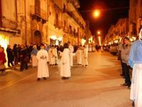 festa dell'Immacolata: la processione nel corso VI Aprile - 8 dicembre 2009  - Alcamo (2030 clic)