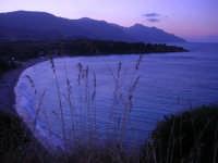 Baia di Guidaloca a sera - 19 settembre 2007   - Castellammare del golfo (589 clic)