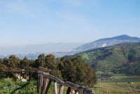Alcamo ed il Monte Bonifato visti da Segesta - 27 gennaio 2008  - Segesta (994 clic)