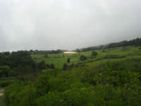 al Belvedere San Nicola - panorama con foschia - 1 maggio 2009  - Erice (2053 clic)
