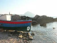 Macari - Golfo del Cofano: barca di pescatori - 30 agosto 2008   - San vito lo capo (558 clic)