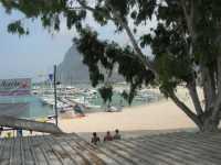 il porto e Monte Monaco - 27 agosto 2009  - San vito lo capo (1659 clic)