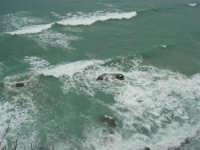 quando il mare è in burrasca - 22 marzo 2009  - Castellammare del golfo (1786 clic)