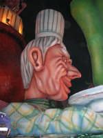 Carnevale 2008 - XVII Edizione Sfilata di Carri Allegorici - La prova del cuoco - Ass.ne A.C.R.A.S.S. Casalbianco - 3 febbraio 2008   - Valderice (977 clic)