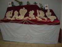 Cene di San Giuseppe - Mostra Sguartucciati di pane e di ceramica - 15 marzo 2009  - Salemi (2319 clic)