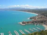 panorama dal Belvedere - 6 settembre 2007  - Castellammare del golfo (581 clic)