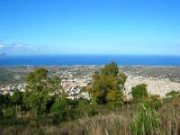 sul monte Bonifato: panorama della città e del Golfo di Castellammare - 8 dicembre 2006   - Alcamo (814 clic)