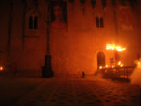 Festeggiamenti Maria SS. dei Miracoli - La Festa del Paradiso - L'Assalto al Castello - Piazza Castello - 20 giugno 2008  - Alcamo (488 clic)