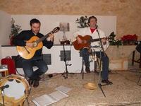 Concerto NAPOLINCANTO - Domenico De Luca (chitarra solista e percussione), Gianni Aversano (voce e chitarra) - 10 dicembre 2009   - Alcamo (1666 clic)