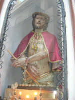 Ecce Homo (restaurato nel mese di maggio del 2007) - Cappella all'esterno della Chiesa Maria SS. delle Grazie - 3 settembre 2008  - Torretta (2001 clic)