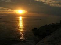 tramonto sul golfo di Castellammare - 23 settembre 2007  - Terrasini (1347 clic)