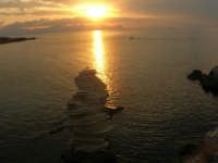tramonto sul golfo di Castellammare - 23 settembre 2007  - Terrasini (1461 clic)