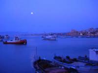 luna piena sul porto - 1 aprile 2007  - Castellammare del golfo (803 clic)