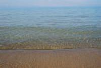 Spiaggia Plaja: mare calmo e trasparente - 25 febbraio 2008  - Castellammare del golfo (590 clic)