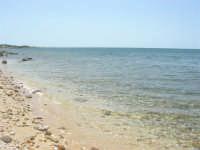 la trasparenza del mare ed il litorale verso sud - 25 maggio 2008  - Marausa lido (1749 clic)