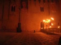 Festeggiamenti Maria SS. dei Miracoli - La Festa del Paradiso - L'Assalto al Castello - Piazza Castello - 20 giugno 2008   - Alcamo (580 clic)