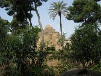 Chiesa della SS. Trinità di Delia del XII secolo, restaurata nell'ottocento. La sua architettura è tipicamente araba con pianta a croce greca triabsidata. La chiesa oggi è proprietà privata - 22 aprile 2007  - Castelvetrano (1238 clic)