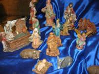 mercatino dell'artigianato in piazza Ciullo - pastorelli - 17 dicembre 2008  - Alcamo (806 clic)