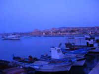 il paese visto dal porto - 1 aprile 2007  - Castellammare del golfo (756 clic)