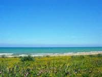 zona Canalotto: la spiaggia nel giorno della Pasquetta - 9 aprile 2007  - Alcamo marina (1049 clic)