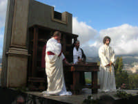 Processione della Via Crucis con gruppi statuari viventi - 5 aprile 2009  - Buseto palizzolo (1980 clic)