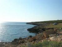 Golfo di Bonagia: la costa nei pressi del Monte Cofano - 27 aprile 2008  - Cornino (886 clic)